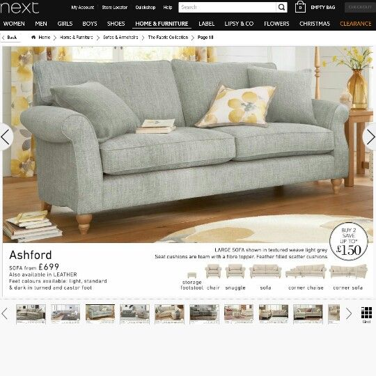 Fab Shade Of Grey And Lemon Next Sofa Home Ideas