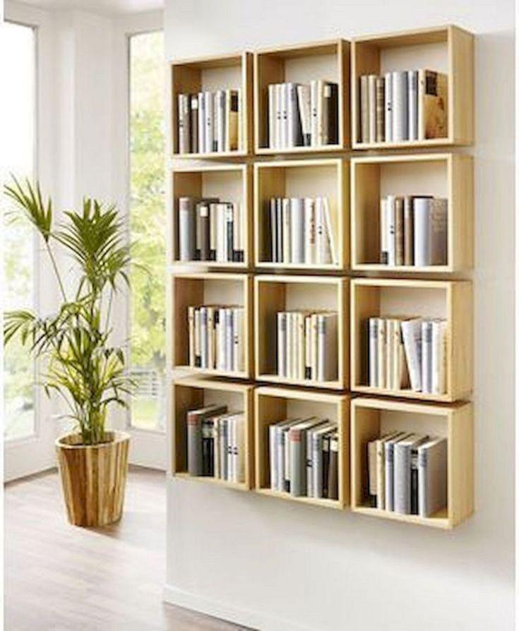 Easy DIY Bookshelf Ideas in 2020 | Bookshelves diy ...