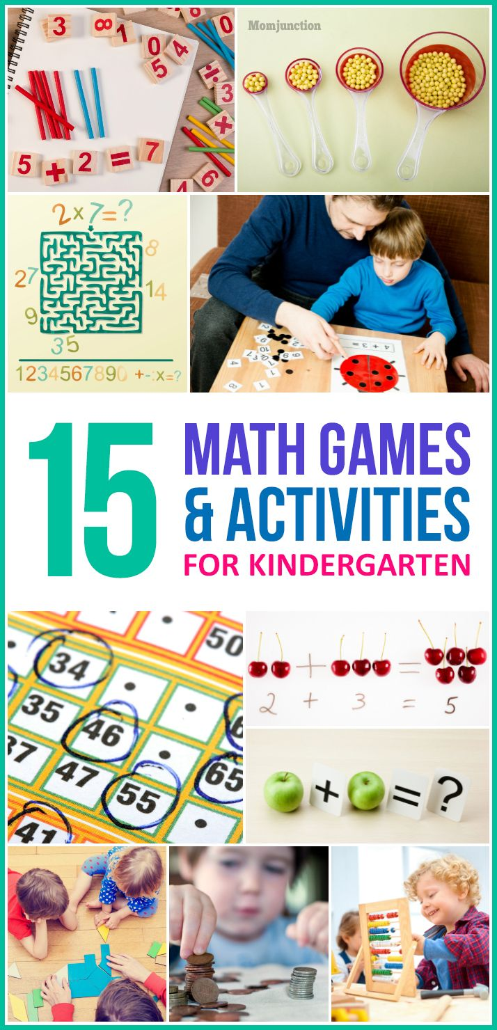 15 Exciting Math Games And Activities For Kindergarten