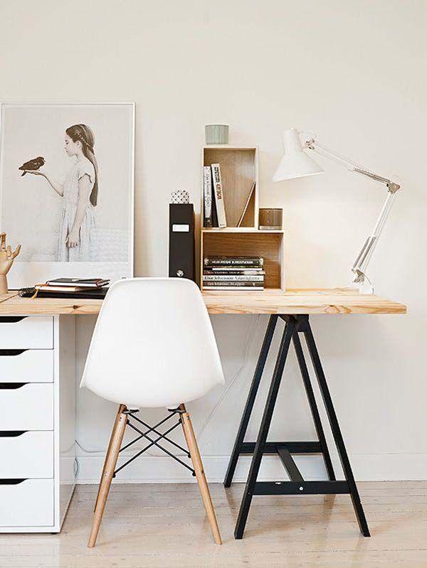 50 Scandinavian Ideas To Transform Your Home Into Chic Living Home Office Decor Interior Minimalism Interior