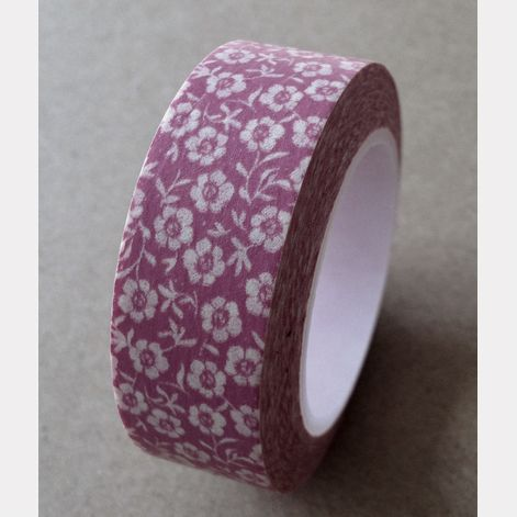 Washi Tape Flower Pink: