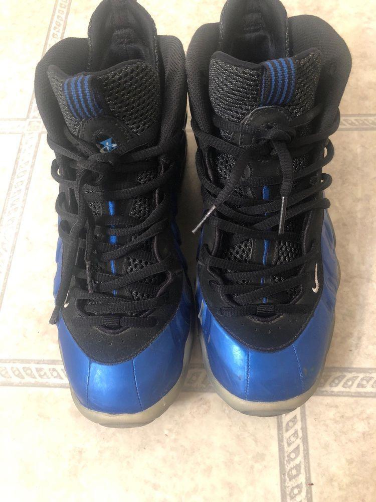 Nike Air Foamposite Royal Blue Foam Size 7 fashion