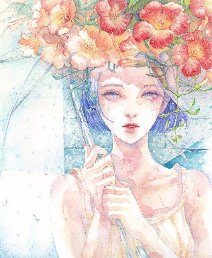 ilustración de Kim Hee Kyoung