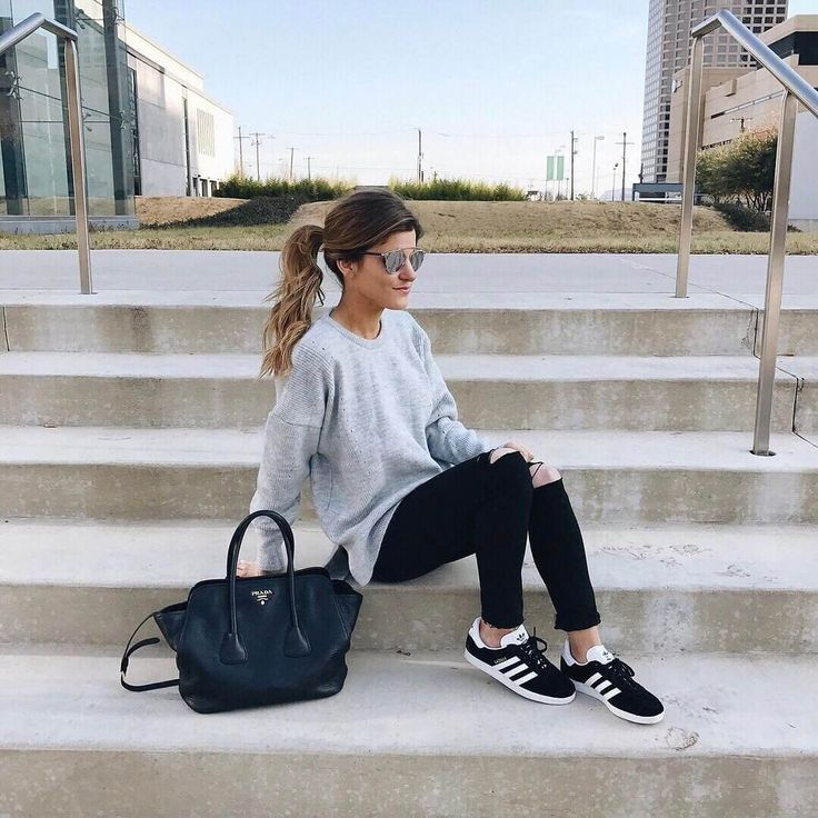 adidas gazelle look