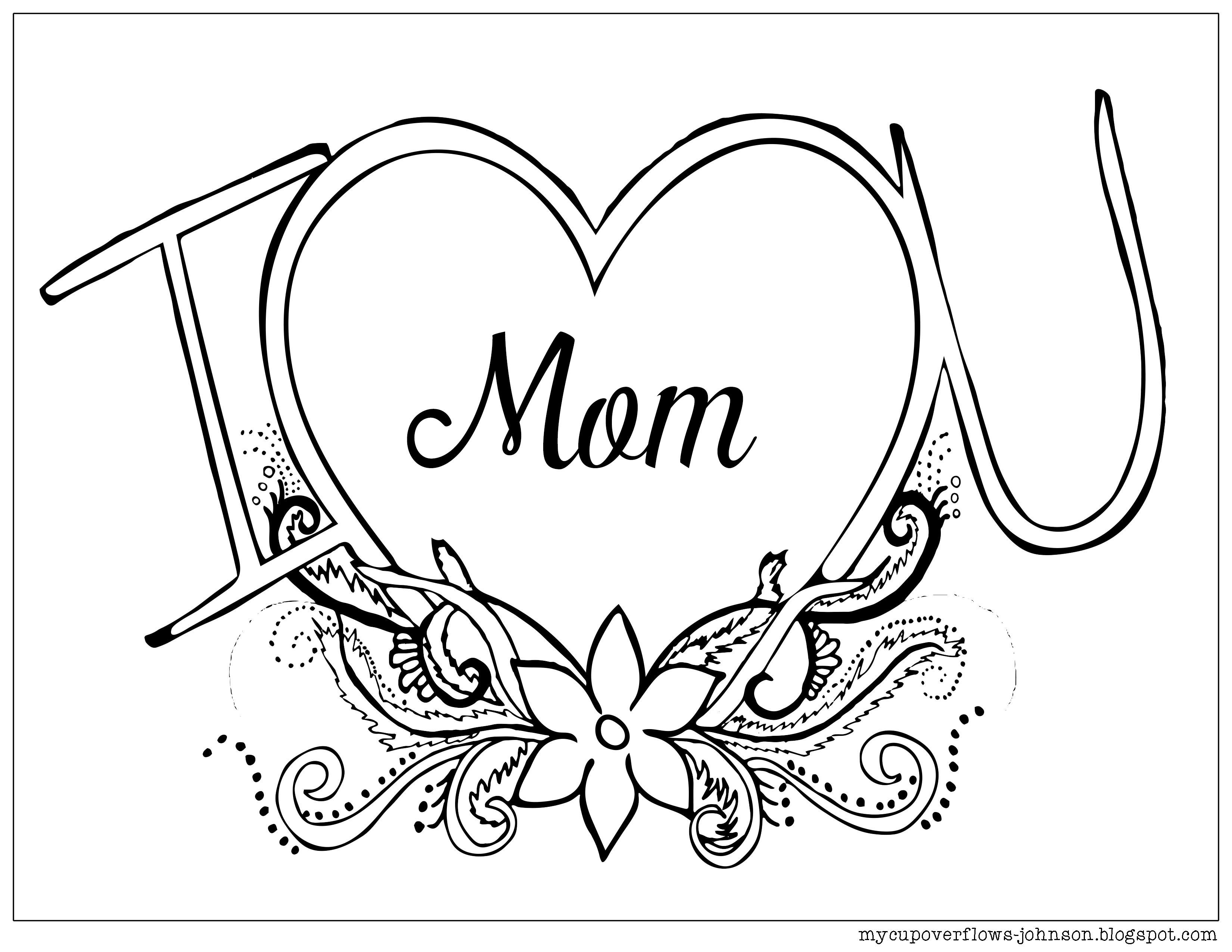 Mother S Day Coloring Pages Mom Coloring Pages Mothers Day Coloring Pages Coloring Pages