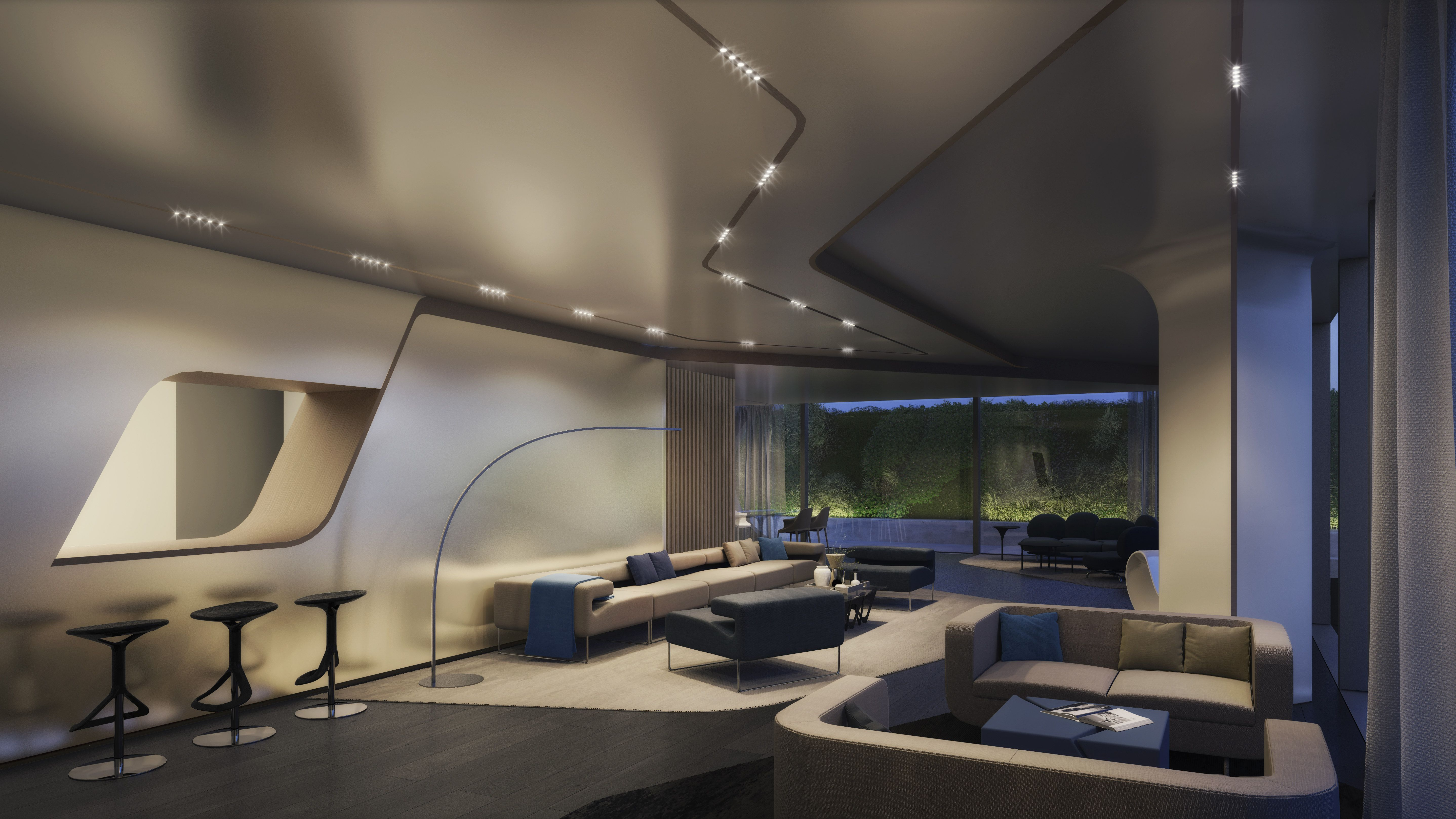 Tour Nyc S First Zaha Hadid Designed Apartments Zaha Hadid