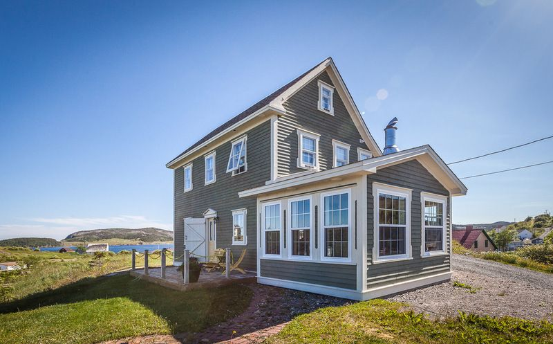 Newfoundland  Saltbox traditional exterior photo by Becki