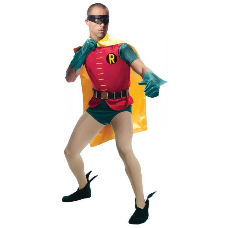 ROBIN COMIC GRAND HERITAGE STD Superheroes  Villains Costumes For - 4 man halloween costume ideas