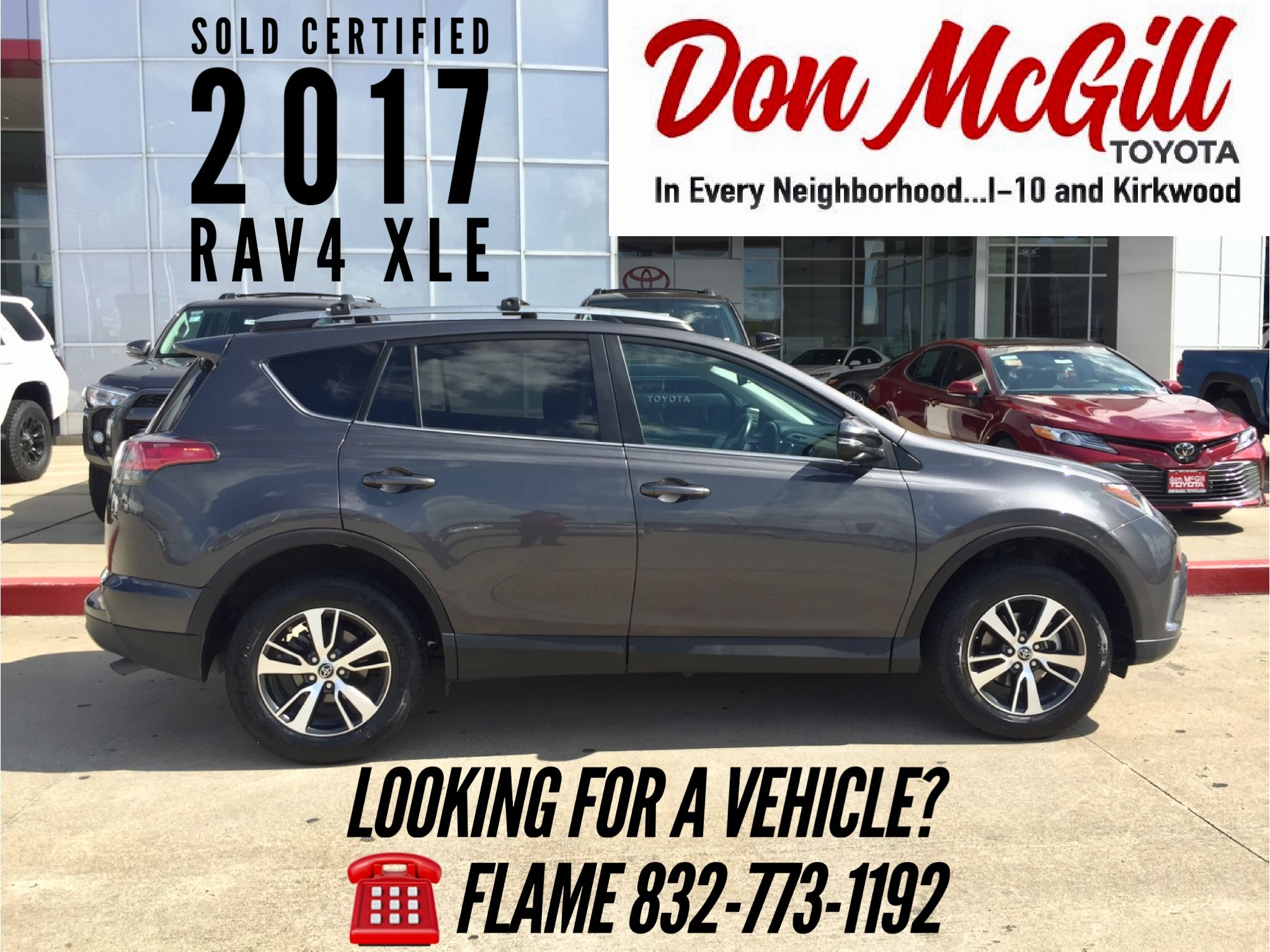 Don McGill Toyota Katy Freeway Houston TX Call Or Text