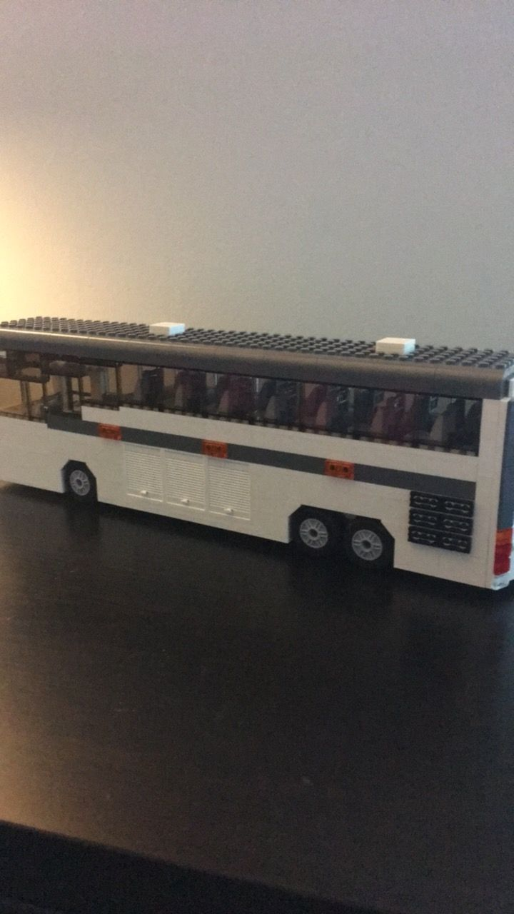 ever popular shopping sells LEGO coach bus | Lego, Vehicles