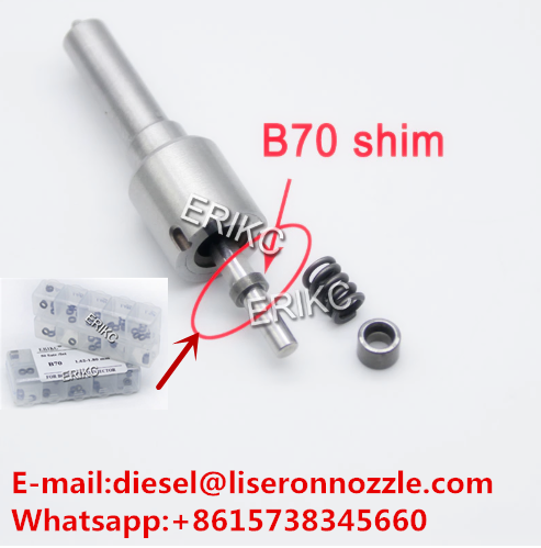 B70 Injector Nozzle Washers 50pcs Gaskets 1.621.80mm Oil