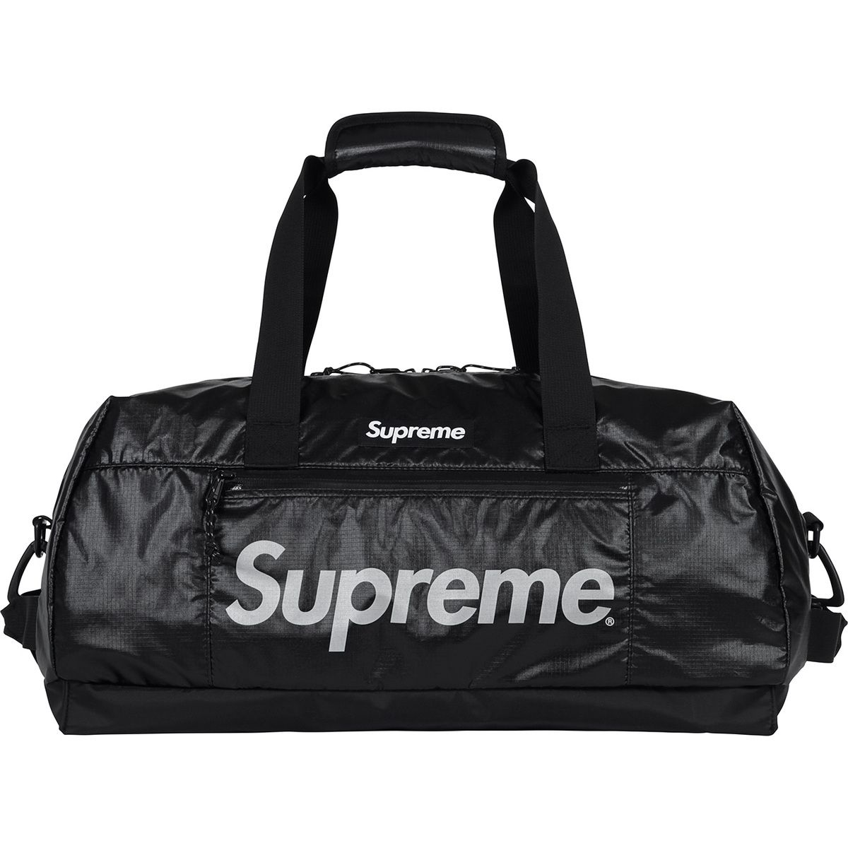 8ef2c574aadb Supreme - Duffle bag - Black nylon #hypebeast | Black is king ...