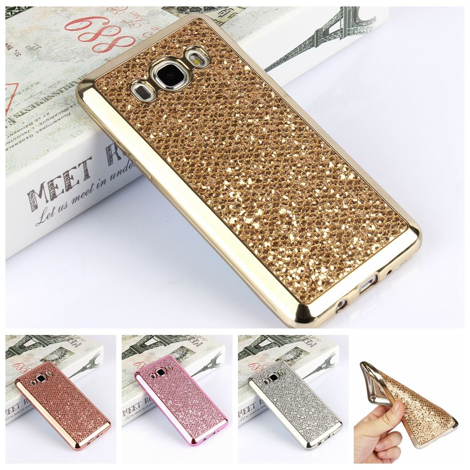Luxury Glitter Bling TPU Case For Samsung Galaxy S4 S5 S6 S7 Edge S8 Plus A3 A5 A7 J1 J3 J5 J7 2016 2015 2017 Grand Prime Cover #Affiliate