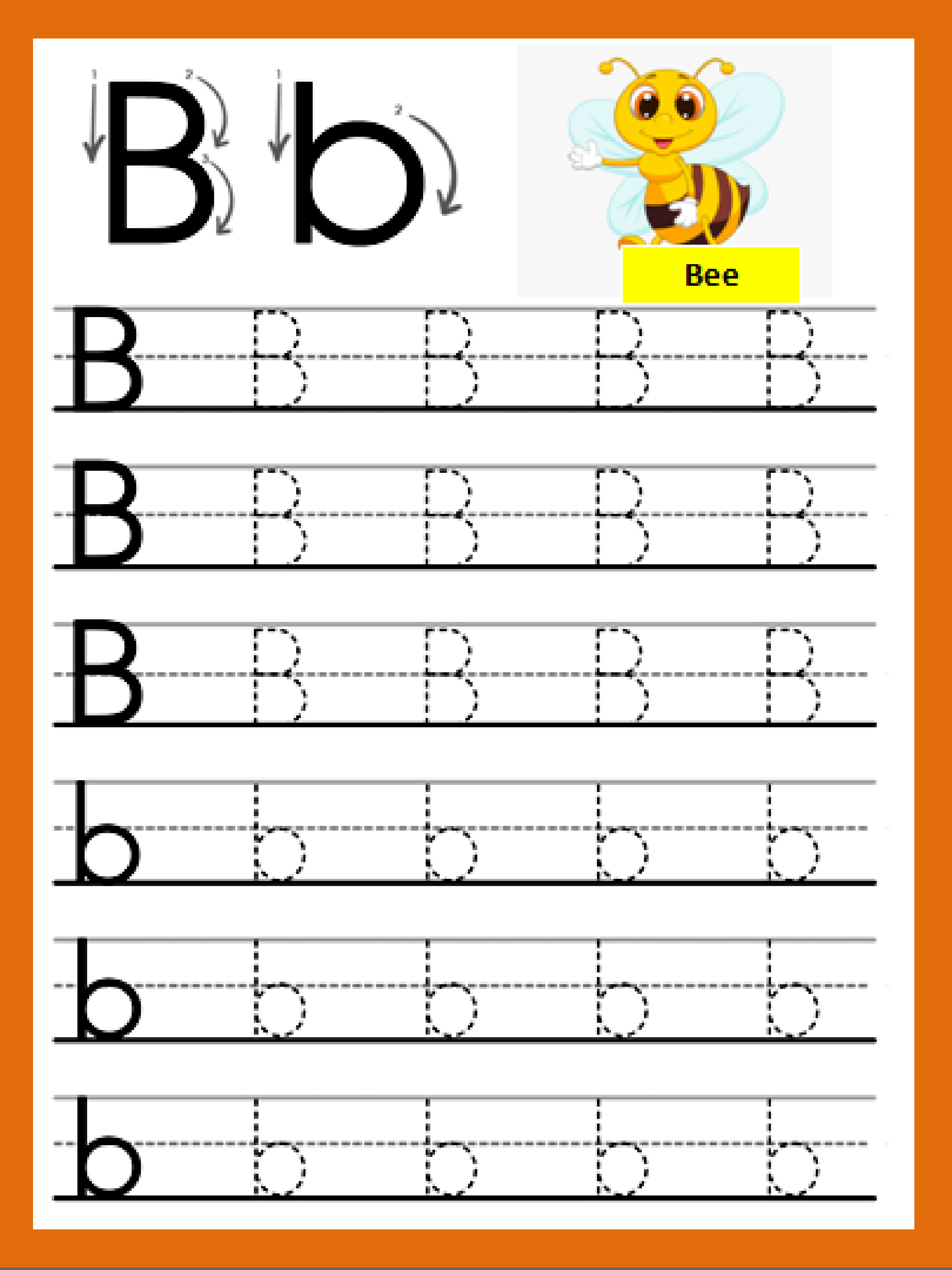 Letter Bb In