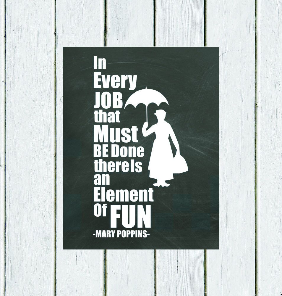 7f163e54 Pin by Crystal Taylor on For the Home | Mary poppins, Typography art ...