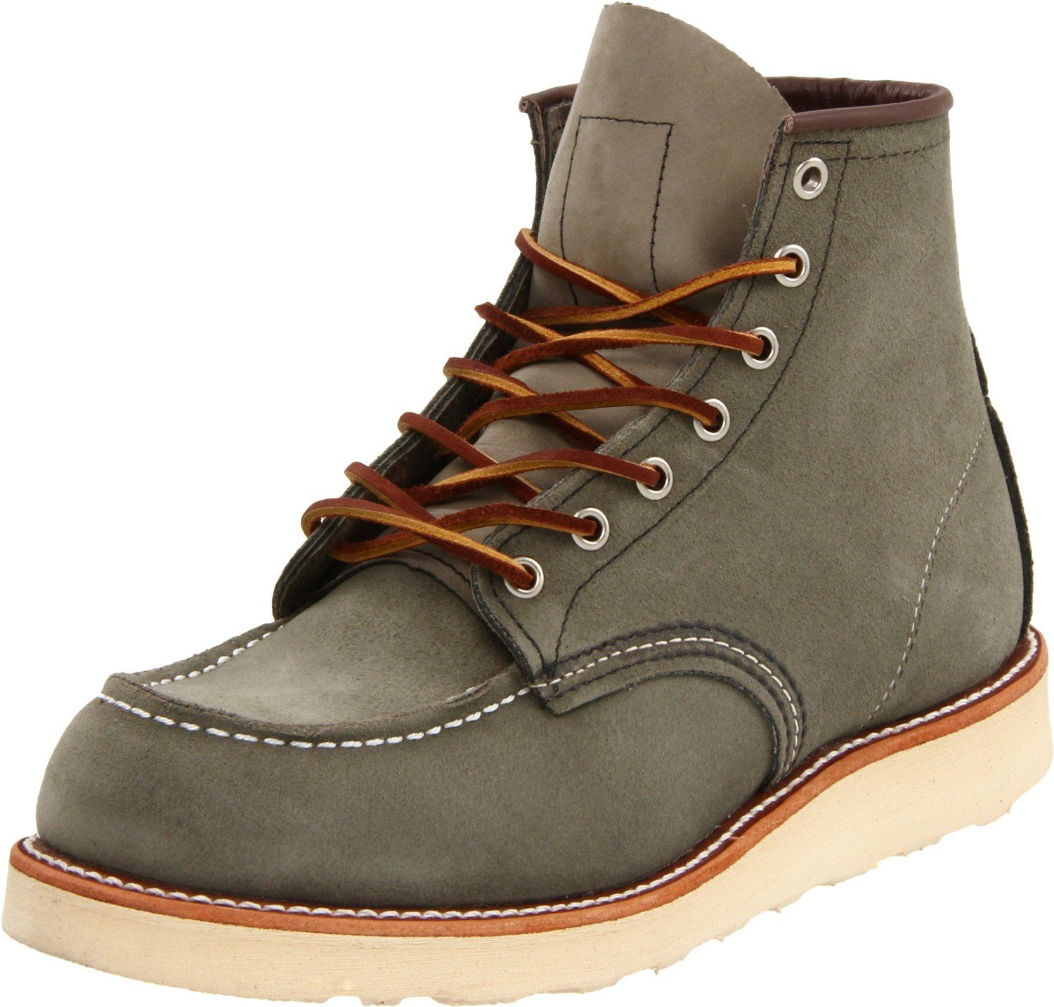 Red Wing Sage Moc Toe | Footwear | Pinterest