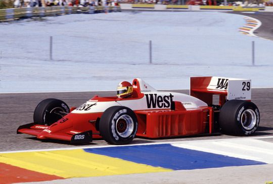 Huub Rothengatter, Zakspeed 861, 1986 French GP, Le