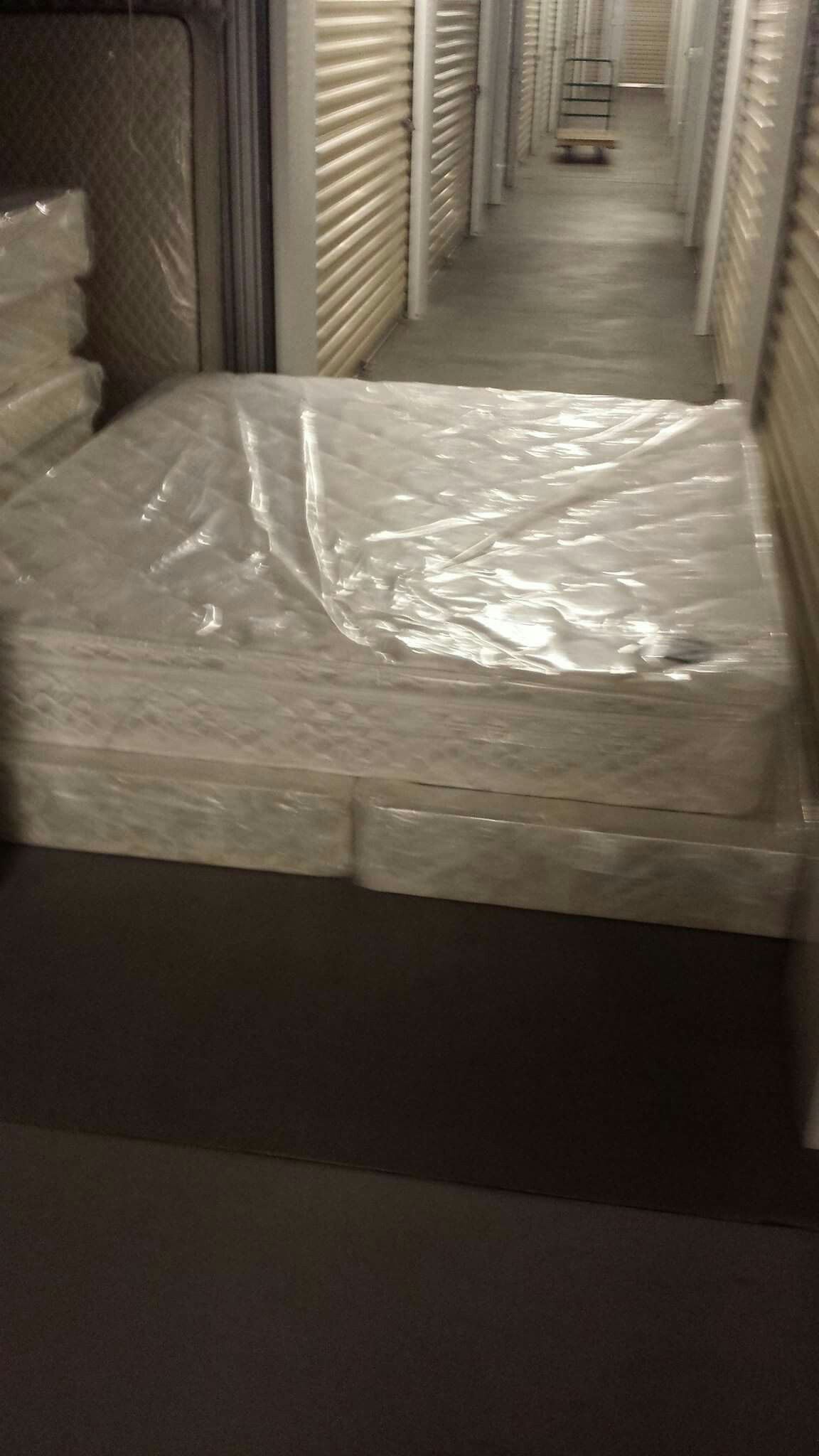 New In Plastic Ca King Ortho Back Ease Pillow Top Mattress