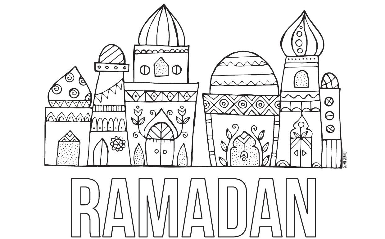 29+ Ramadan coloring pages free ideas