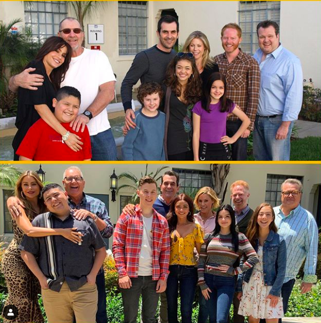 Just Look At How Everyone S Changed The Modern Family Cast Shared Emotional Tributes To The S In 2020 Modern Family Tv Show Modern Family Funny Modern Family Quotes
