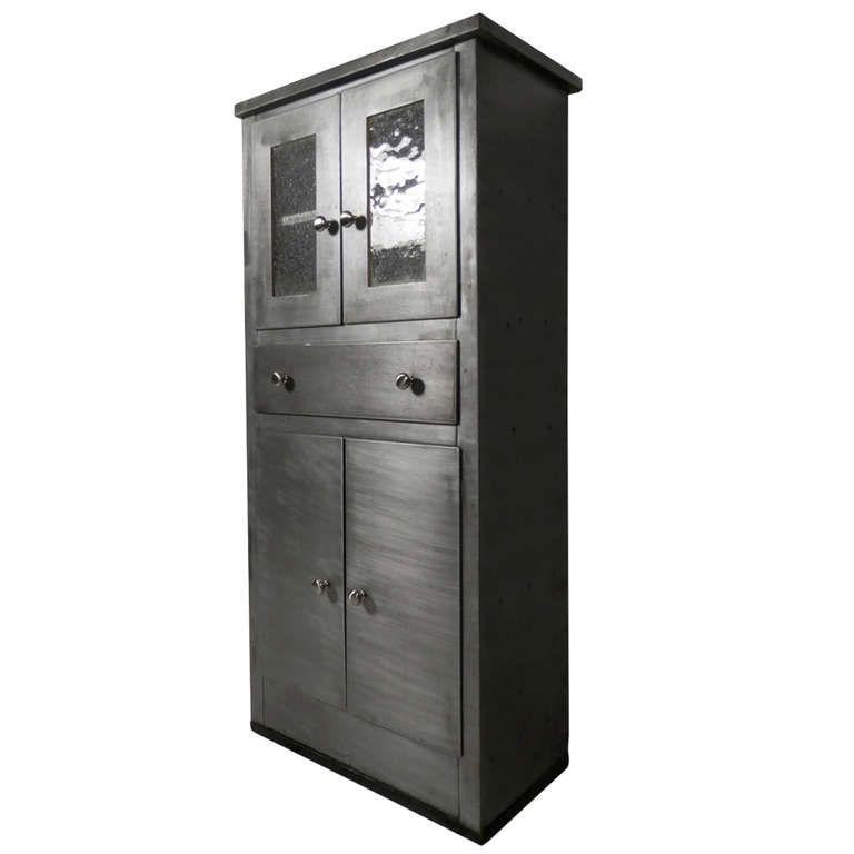 Etonnant Tall Vintage Metal Cabinet | From A Unique Collection Of Antique And Modern  Cabinets At Http://www.1stdibs.com/furniture/storage Case Pieces/cabinets/