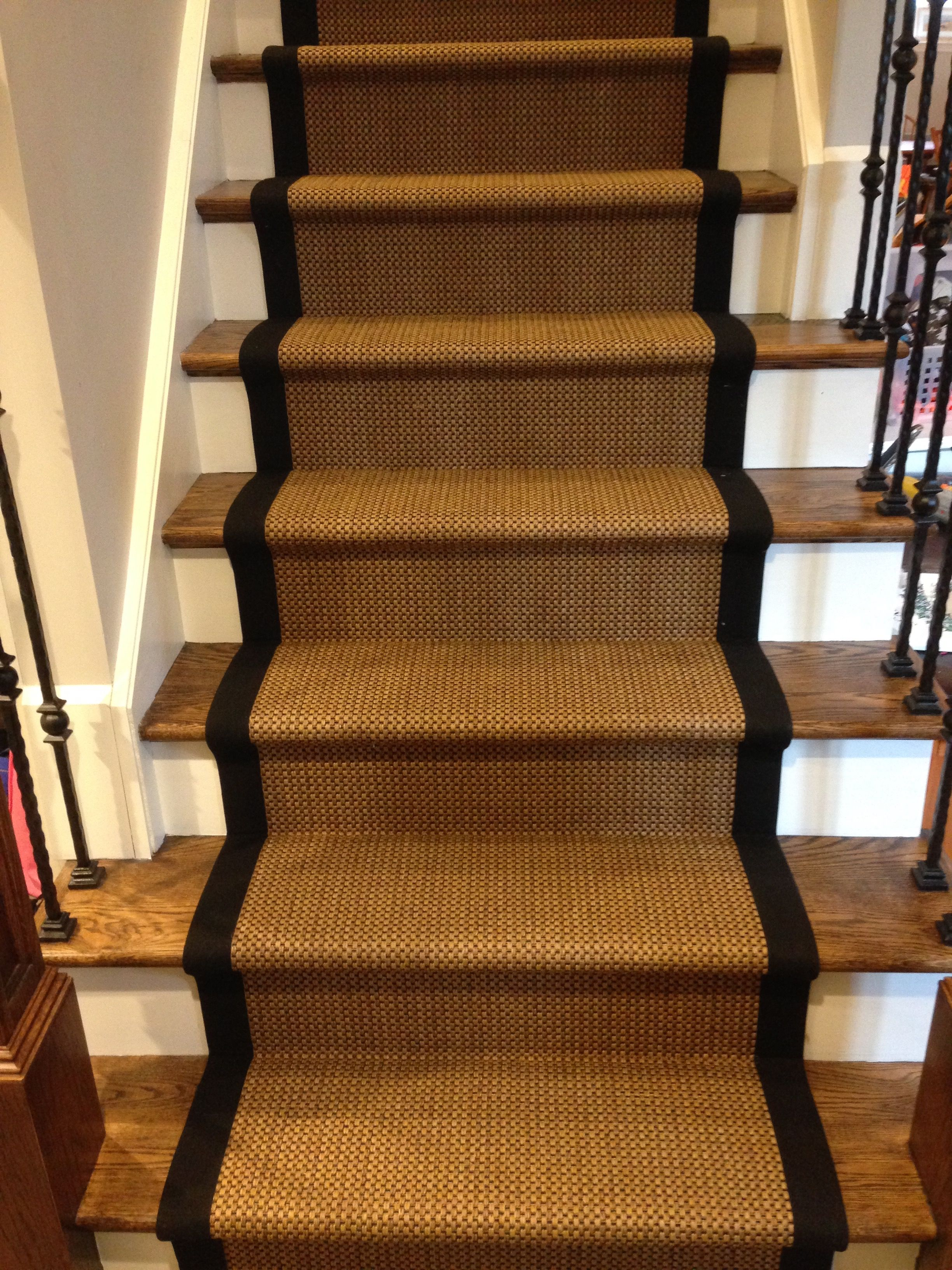 Wonderful Custom Stair Runners   Custom Sisal Runner