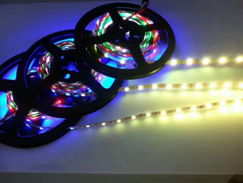 Colored Led Light Strips Captivating Led Strip Light Rgb Color 60Ledmeter 5V Input  Waterproof Ip65 Design Decoration