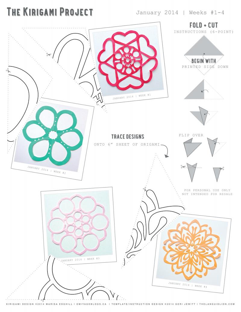 Halaman 1 dari 1 | Origami y mas 3 | Pinterest | Copos de nieve de ...