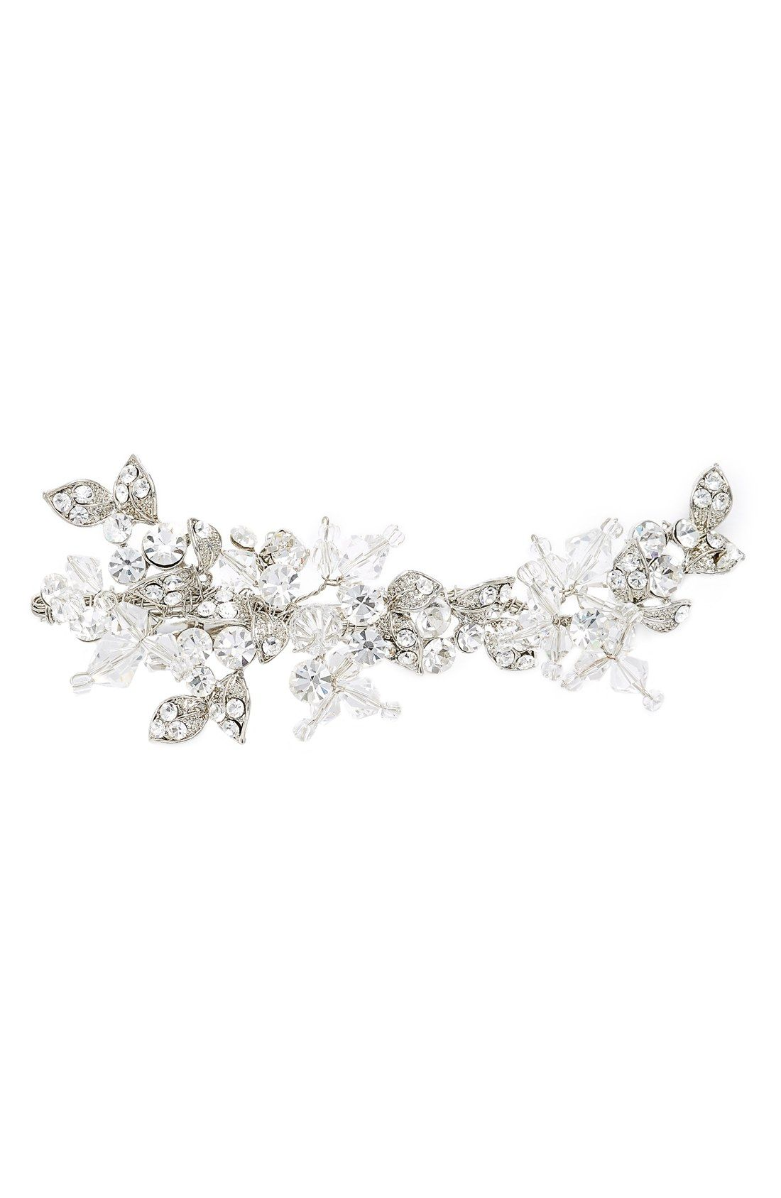brides & hairpins 'olivia' jeweled hair clip | hairpins