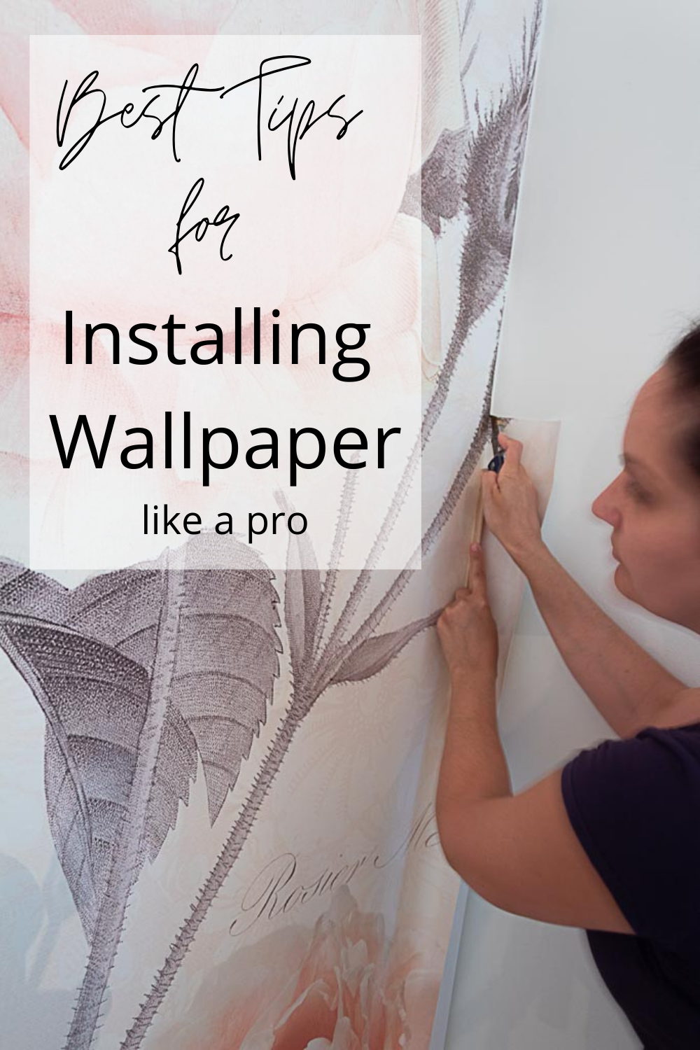 How To Hang Wallpaper Without Losing Your Mind Diy Porch Decor How To Hang Wallpaper Cool Wallpapers Home
