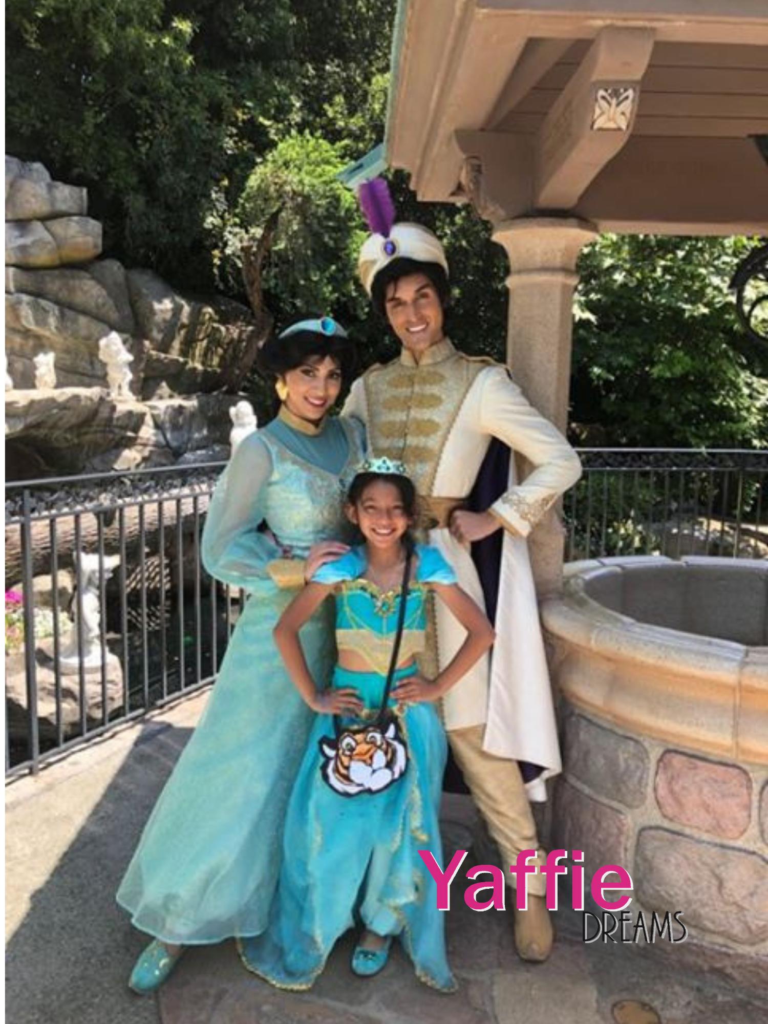 Princess Jasmine costume by YAFFIE DREAMS store Aladdin