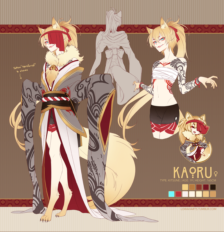 Image result for blonde kitsune Kitsune fox spirit