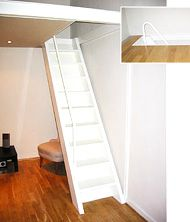 Compact Stairs TB Idea For Hidden Pull Down Stairs For Unknown Second Story