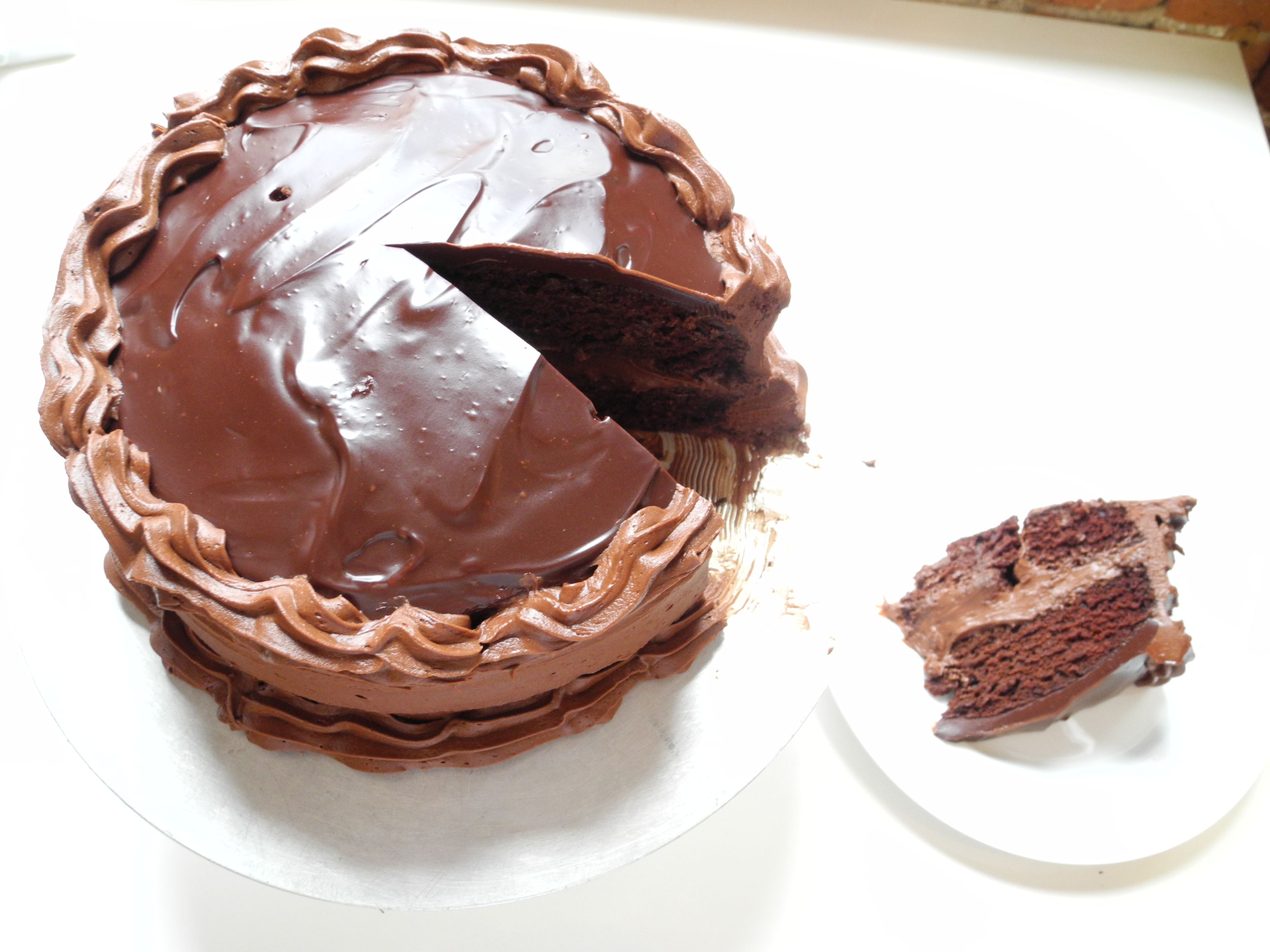 Super chocolate cake from cookingchanneltv is it possible to food super chocolate cake forumfinder Images
