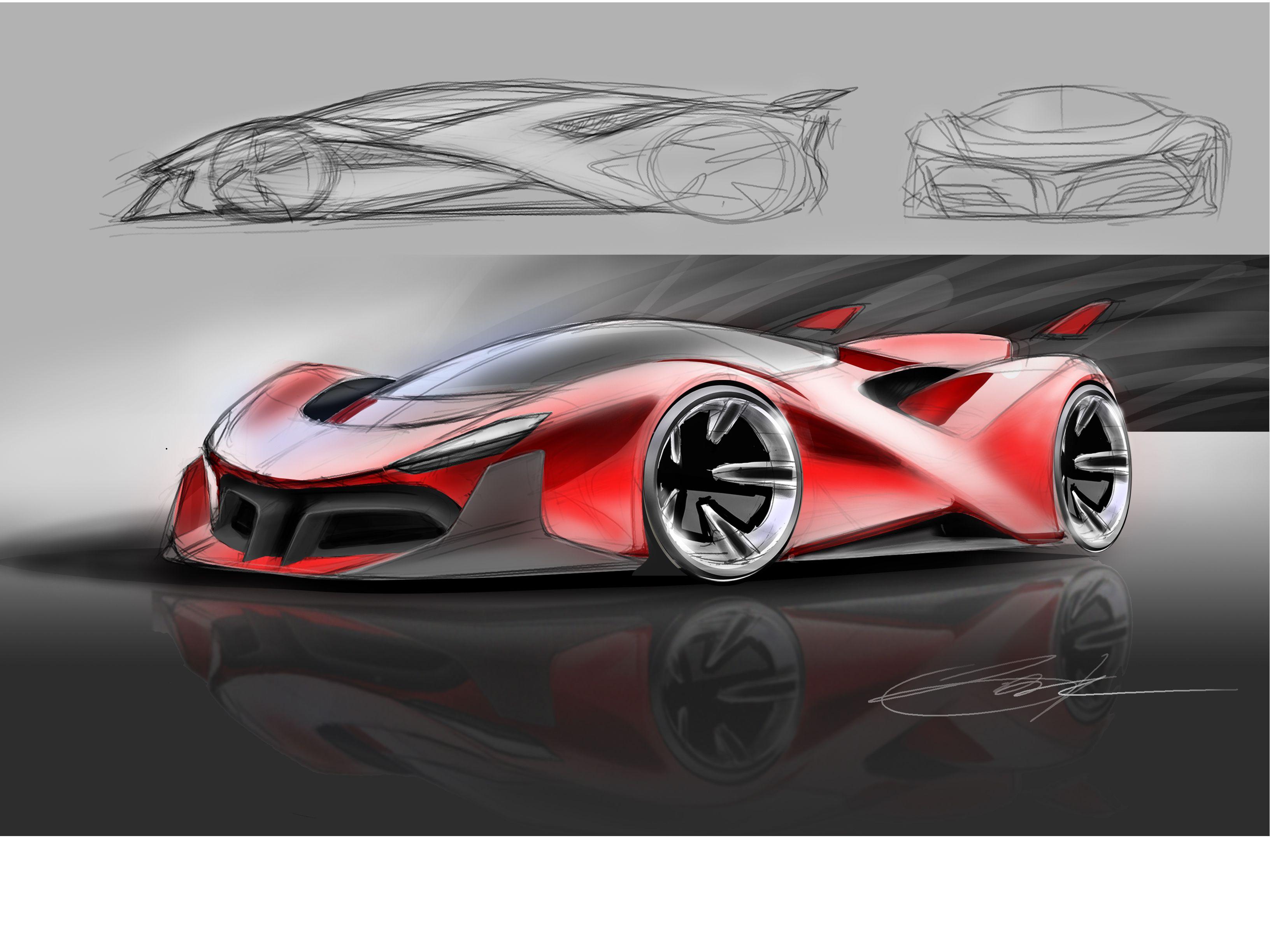 Ferrari Concept Car Design Concept Cars Trike