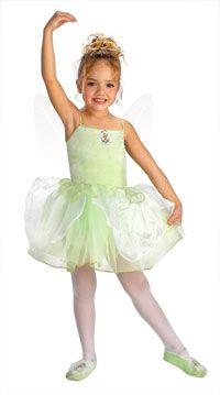 cute halloween costumes for kids girls tinker bell princess costume tinkerbell costumes - Ballet Halloween Costume