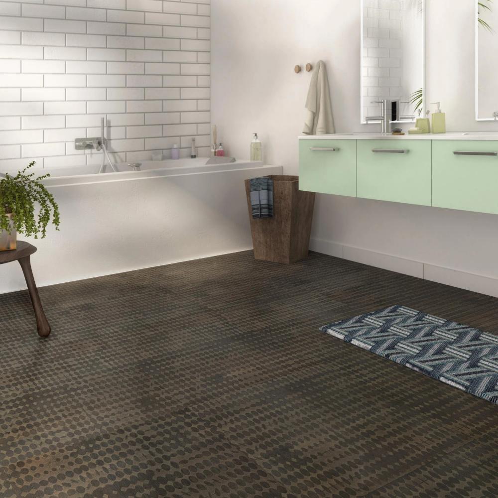 Dalle Pvc A Clipser Contesse Loggia Carre Lagrima Brun Leroy Merlin In 2020 Flooring Bedroom Lighting Tile Floor