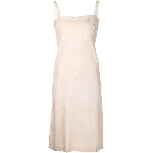 90648552cb40 Dosa slip dress ($520) ❤ liked on Polyvore featuring dresses, mesh insert  dress, silk slip dress, dosa dress, sleeveless silk dress and slip dress