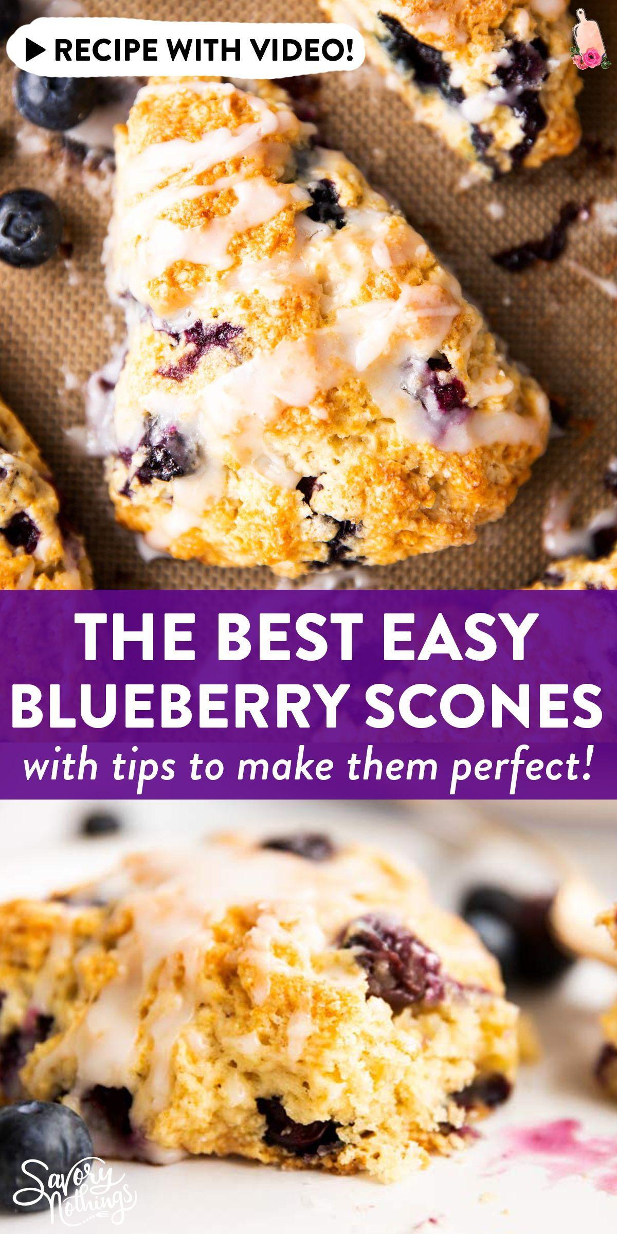 Buttermilk Blueberry Scones In 2020 Berries Recipes Blueberry Recipes Scones Recipe Easy