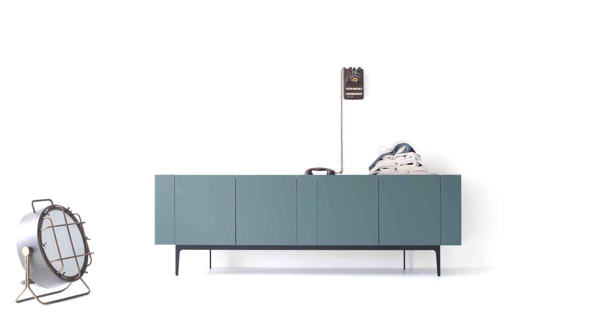 Rainbow Madia Con Ante Laccate Colorate Lema Sideboard Hochwertige Möbel Hersteller