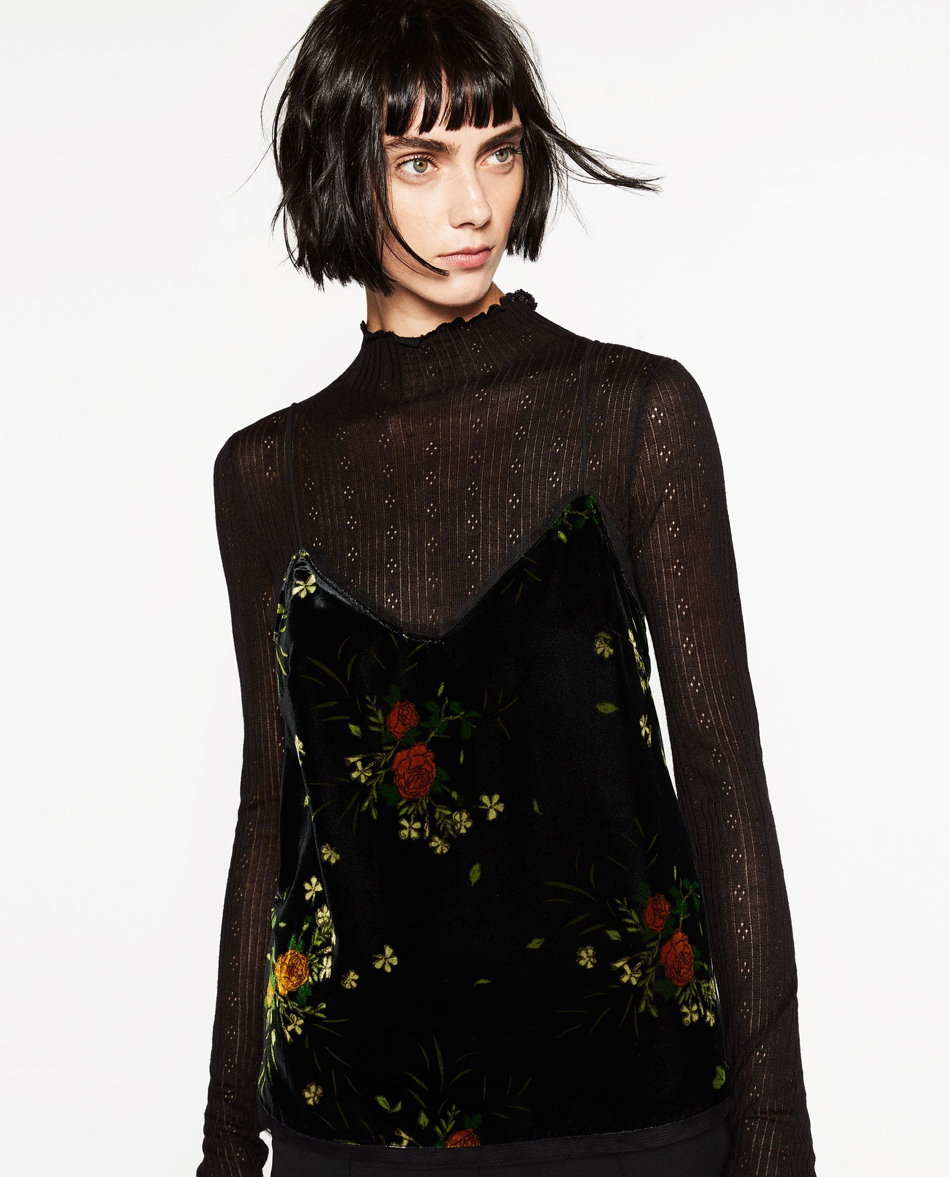 b1bedade2f5 Best Zara Clothing - New Arrivals Fall Fashion. We can t wait to layer this  over every long-sleeved top we own.
