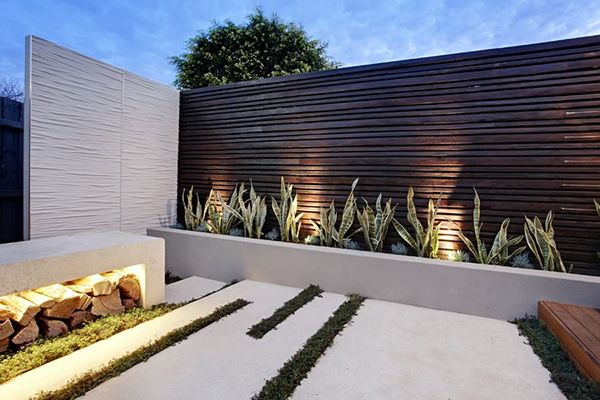 Modern Garden Walls - Google Search | Terrazzo | Pinterest