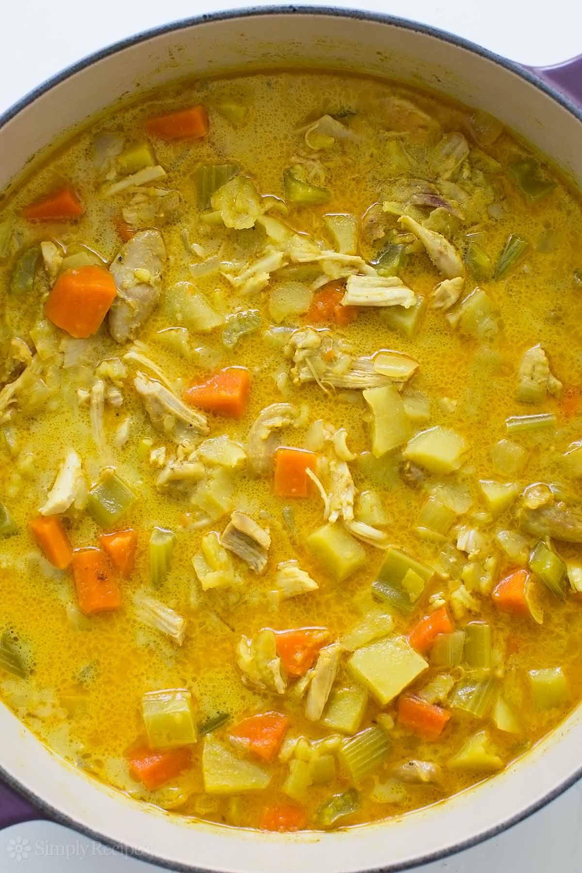 Chicken Mulligatawny Soup Recipe Mulligatawny Chicken Curry Soup Easy Chicken Curry