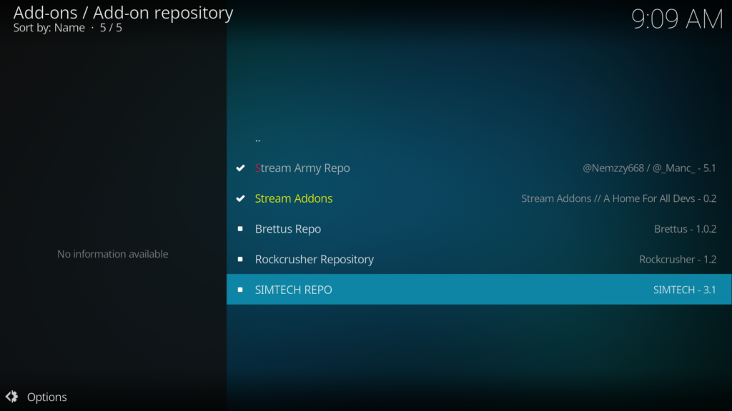 How To Install Simtech Repository And Live Premiership