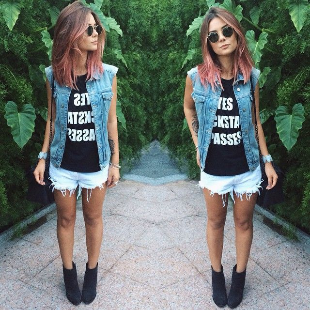 yesterdays outfit | tee @becase_showroom, short @calistoree