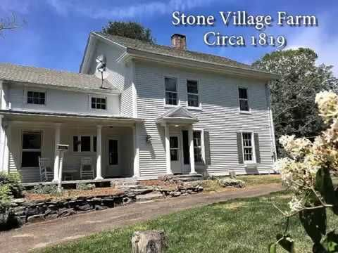 Historic circa 1819 Federal Colonial with period detail, spacious