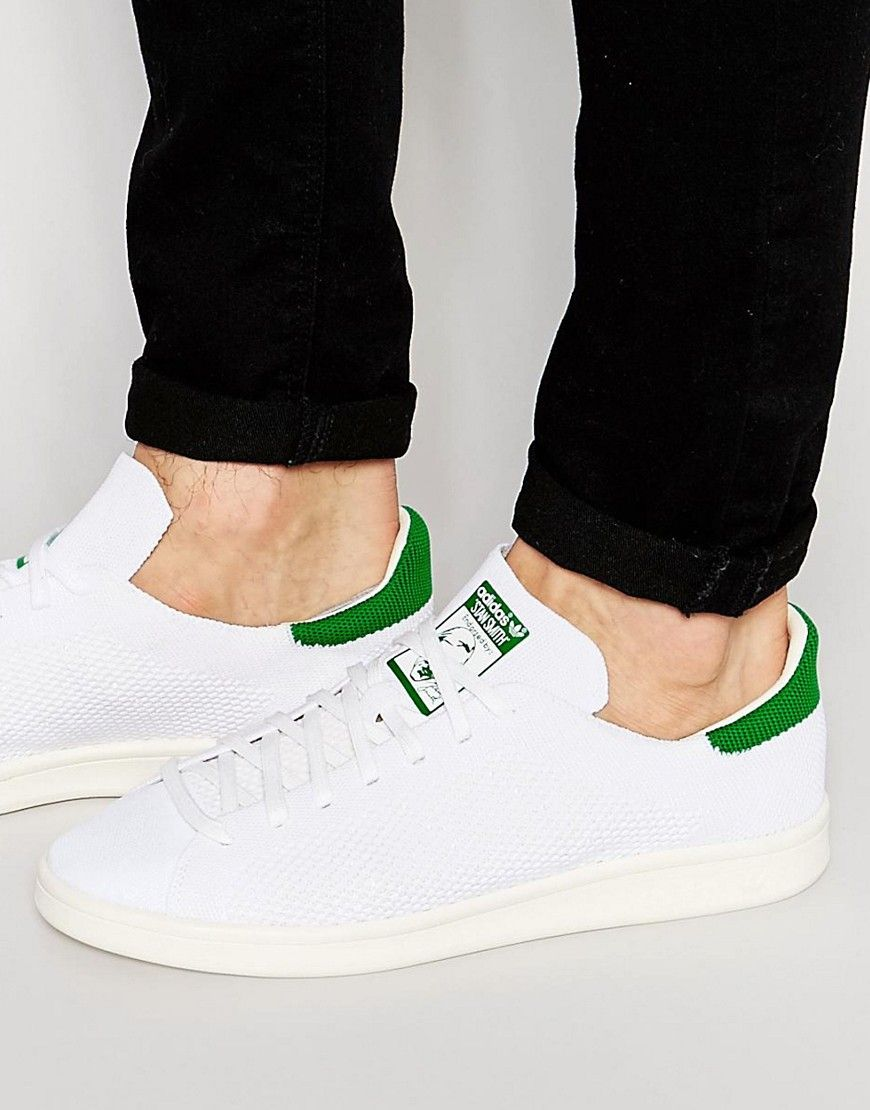 adidas Originals Stan Smith Primeknit Trainers S75146 at asos.com