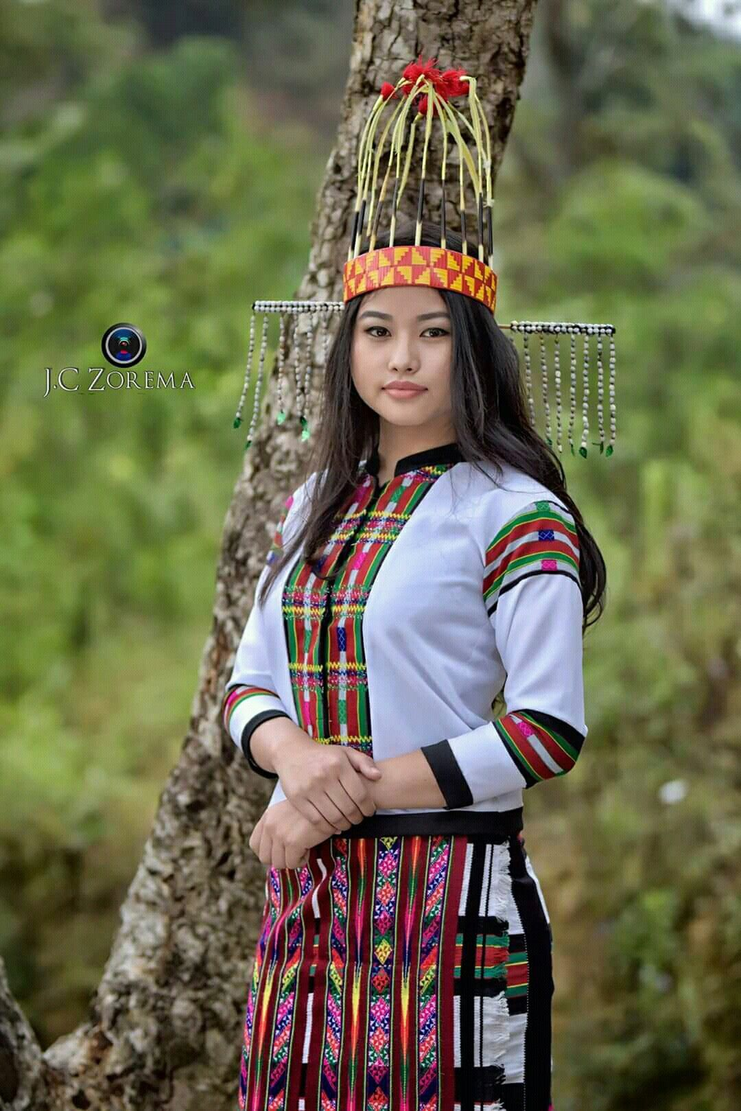 AND, I just love Mizo girls. They are always amazingly