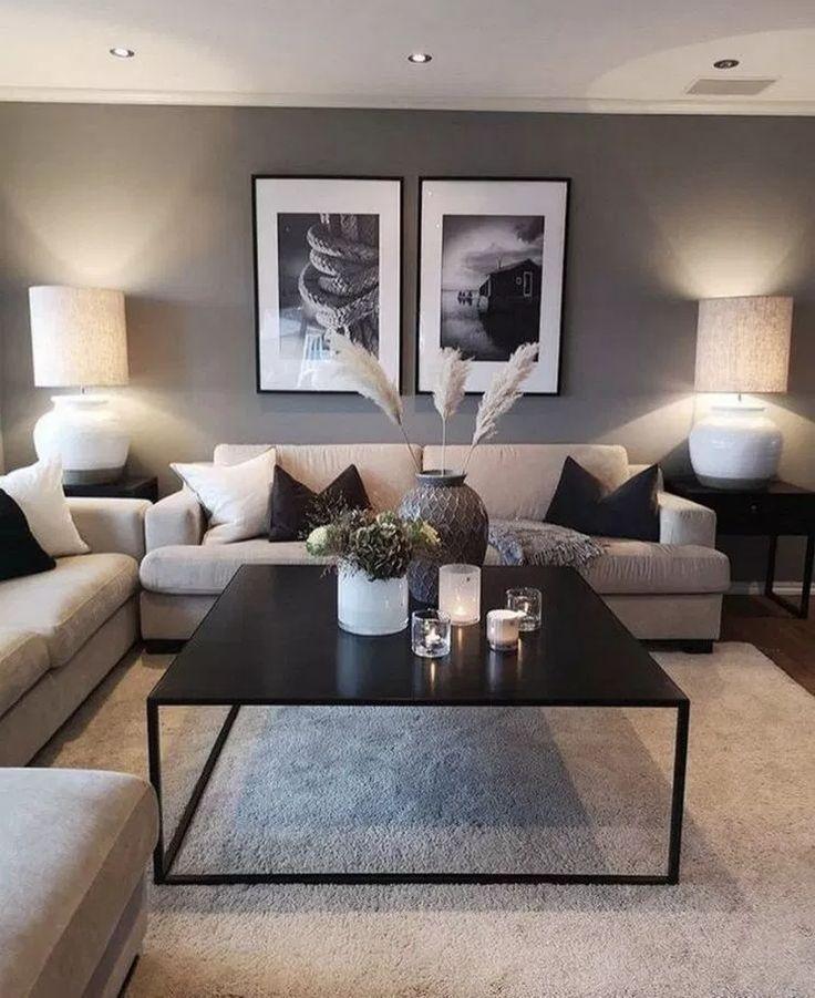 43 acogedoras ideas de decoración de sala de estar pequeña para su apartamento 30