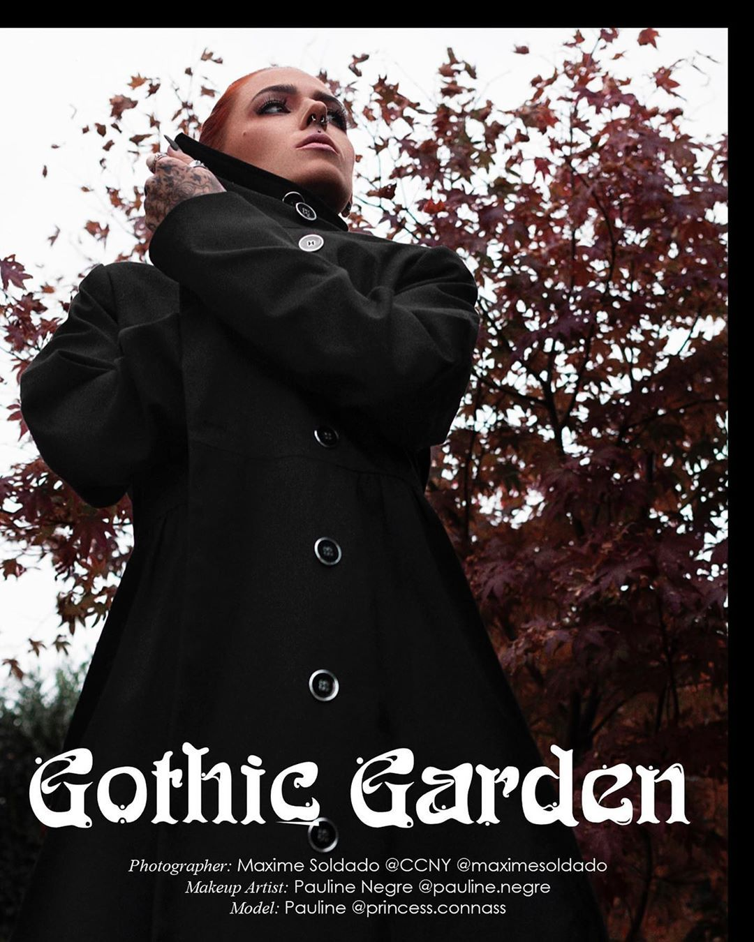 Gothic Garden for @likealionmagazine by @maximesoldado @gre @nnass @zara - @undizfamily